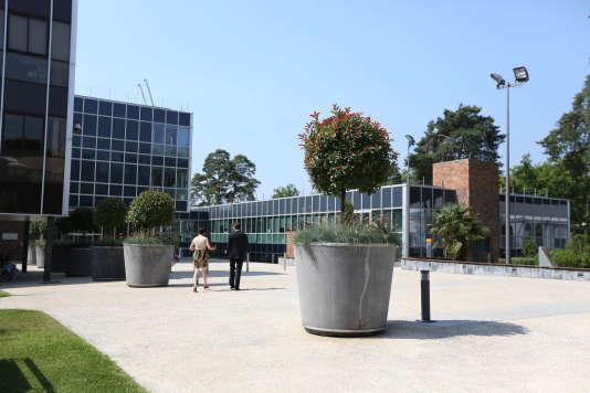 Le campus de l'Insead, à Fontainebleau, en Seine-et-Marne.