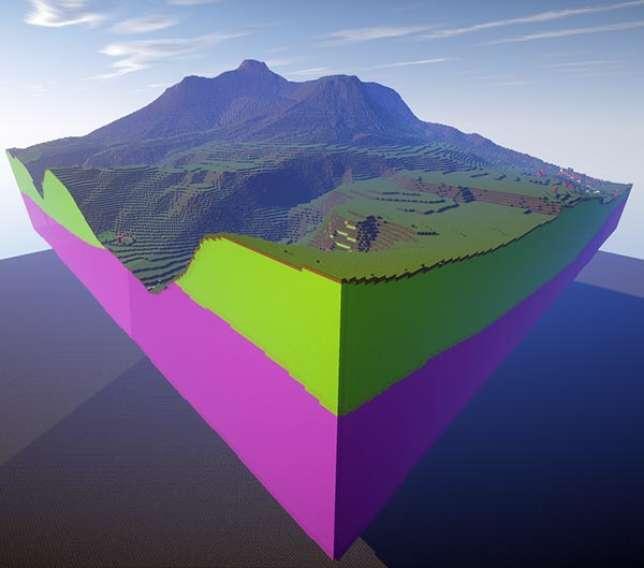 Le British Geological Survey a modélisé des zones de la Grande-Bretagne, comme le sommet montagneux d'Ingleborough.