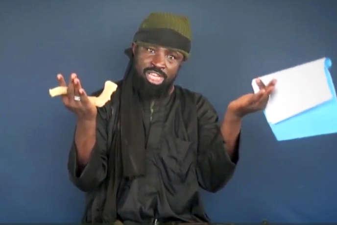 Capture d'écran d'une vidéo du leader de Boko Haram, Abubakar Shekau, diffusée le 18 février 2015.