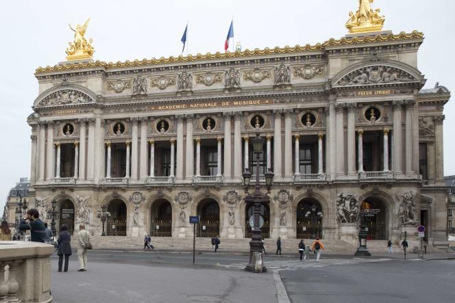 Le Palais Garnier, l'une des scènes de l'Opéra de Paris, en septembre 2015.