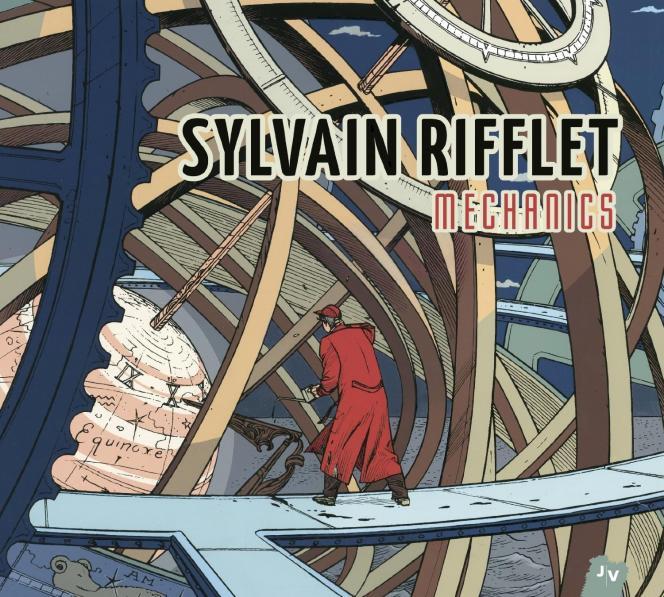 Pochette de l'album « Mechanics », de Sylvain Rifflet.