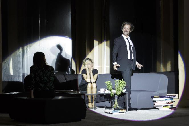 Marina Foïs (Katarina) et Romain Duris (Frank) dans