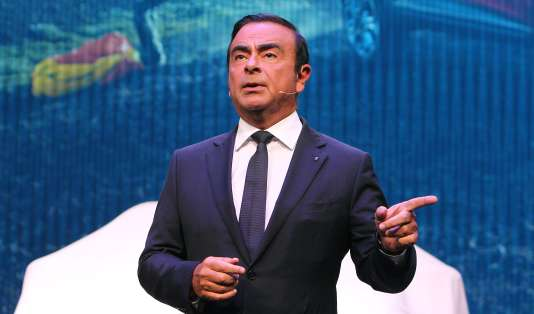 Le PDG de Renault, Carlos Ghosn, en septembre 2015.