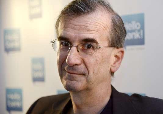 François Villeroy de Galhau en mai 2013 à Paris.