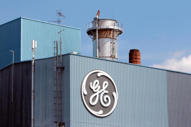 Le site General Electric de Belfort (Territoire de Belfort), en 2014.