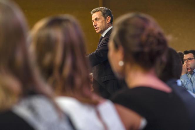 Nicolas Sarkozy au Touquet, le 12 septembre 2015.