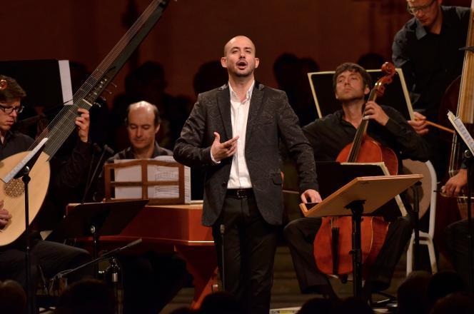 Le lauréat du prestigieux prix Abbiati en2011, Franco Fagioli, a donné un éblouissant récital au Festival d'Ambronay dans l'Ain.