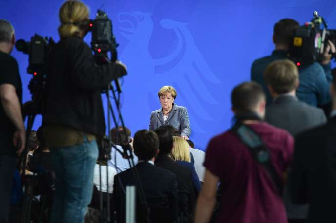 Angela Merkel à Berlin le 15 septembre 2015.