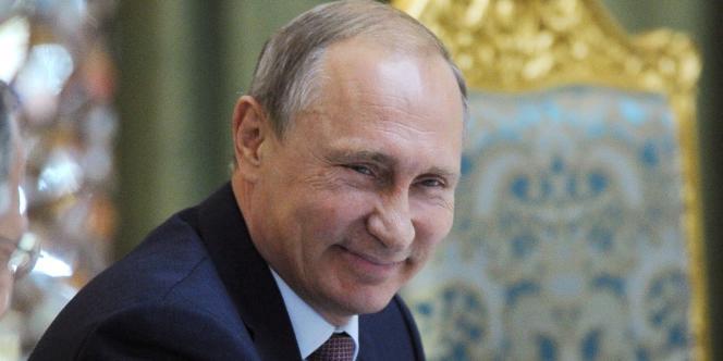 Le président  Vladimir Poutine, en septembre.