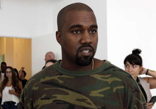 Kanye West à New York, le 10 septembre.