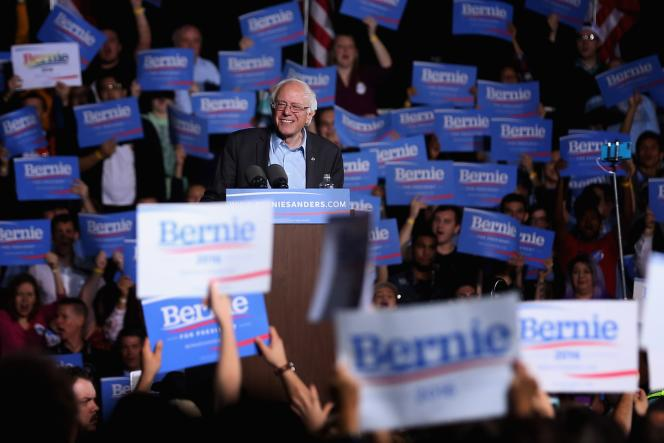 Bernie Sanders le 14 septembre 2015 à Manassas en Virginie.