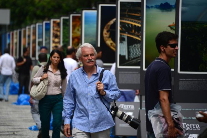 Yann Arthus-Bertrand, le 26 avril 2012 à Rio de Janeiro.