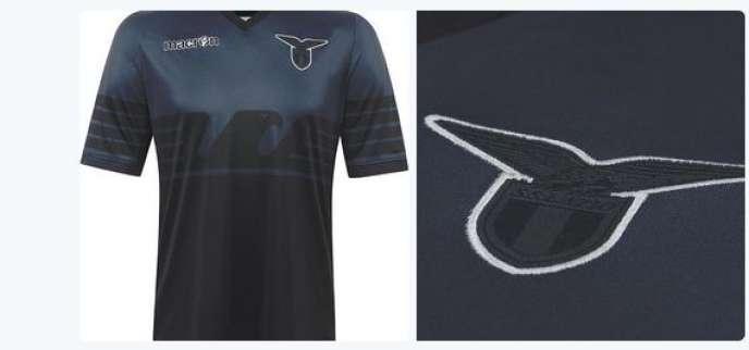 La nouvelle tenue de la Lazio, pour les joutes européennes.