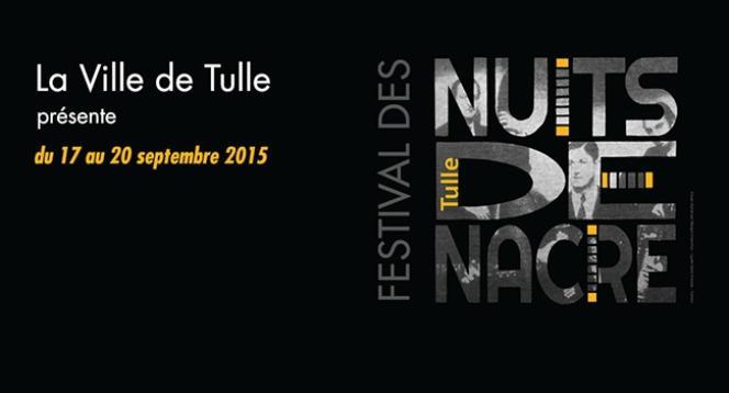 Le visuel du festival Les Nuits de nacre, à Tulle, conçu et réalisé par Margot Chanchus.