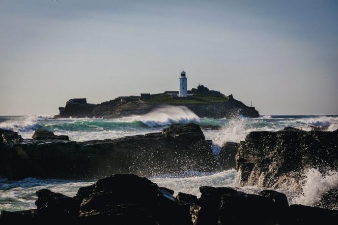 Le phare de Godrevy.