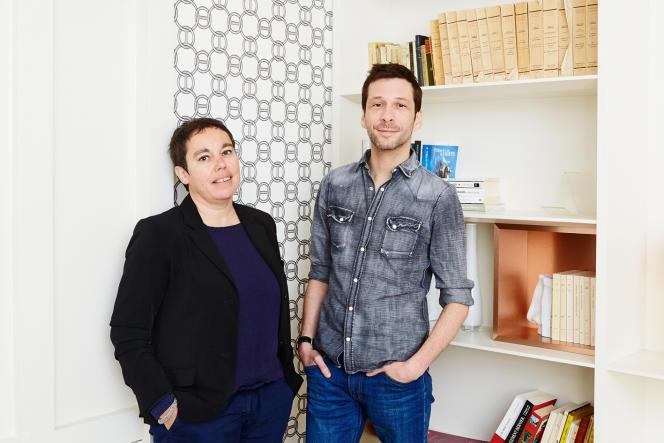 Isabelle Monnin et Alex Beaupain.