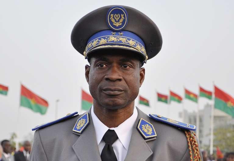 Le général Gilbert Diendéré, en 2011 à Ouagadougou.