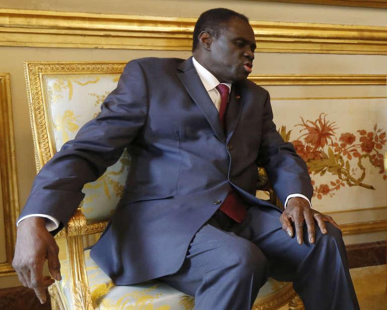 Le président de la transition Michel Kafando le 1er juin.