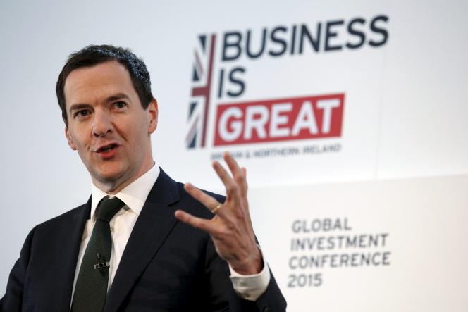 Le chancelier de l'Echiquier, George Osborne, a initié le rapprochement des autorités avec les financiers