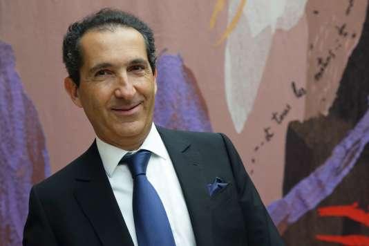 Patrick Drahi, magnat du câble et investisseur dans les médias.  REUTERS/Philippe Wojazer/Files