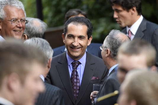Patrick Drahi le 24 juin à Paris.