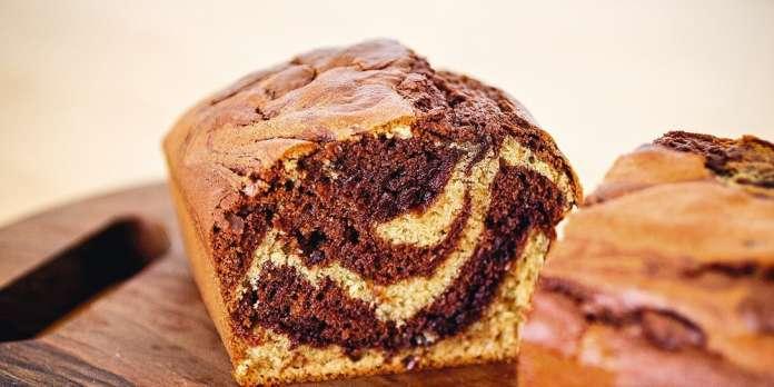 Marbré au chocolat : la recette allégée de Carole Saturno