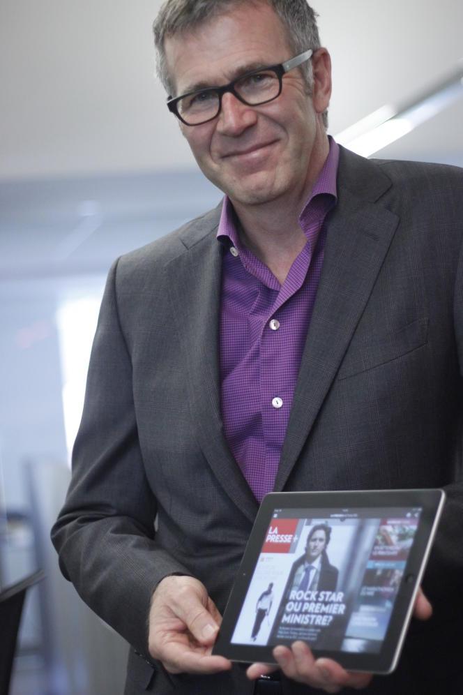 Guy Crevier président et éditeur du quotidien québécois