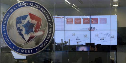 L'Agence nationale de la sécurité des systèmes d'information, à Paris.