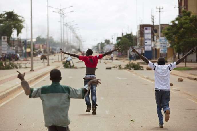 A Ouagadougou, deux jours après le putsh manqué du 16 septembre 2015.