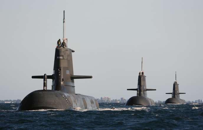 Les sous-marins australiens Collins seront bientôt remplacés.