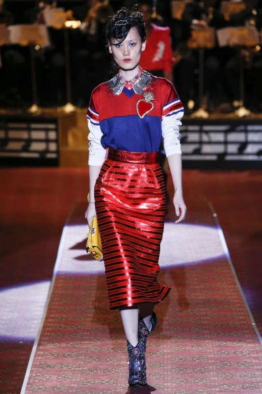 Marc Jacobs, défilé de la Fashion Week new-yorkaise, collection printemps-été 2016.