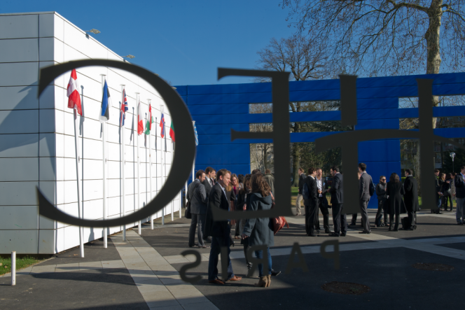 L'Ecole des hautes études commerciales, HEC Paris, àJouy-en-Josas, dans les Yvelines.