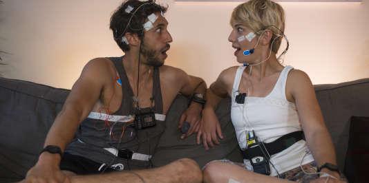 Nicolas Portier et Léa Dauvergne sont soumis à une série de tests.