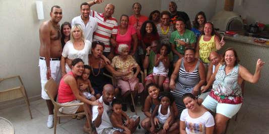 La famille Mendes.