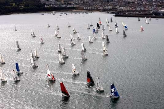 Les concurrents étaient partis le 19 septembre de Douarnenez, dans le Finistère.