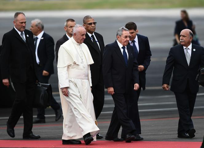 Le pontife argentin est arrivé, samedi 19 septembre à Cuba, pour une visite de trois jours à Cuba avant de se rendre dans la foulée aux Etats-Unis (22 au 27 septembre),