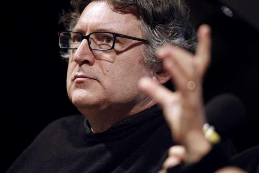 Le philosophe Michel Onfray à Caen en 2010.