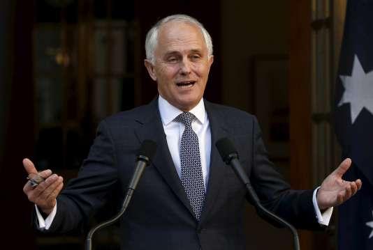 Malcolm Turnbull, le premier ministre australien, le 20 septembre à Canberra.