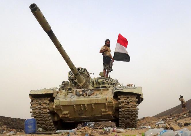 Un soldat des forces gouvernementales yéménites le 19 septembre.