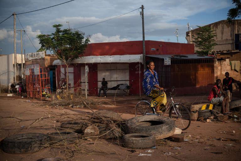 Journée de blocus dans les rues de Ouagadougou.