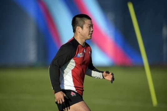 Le joueur japonais Fumiaki Tanaka, le 20 septembre.