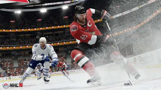NHL 16 corrige les défauts de l'épisode précédent et offre des indices visuels pour aider les débutants à se familiariser avec les commandes.