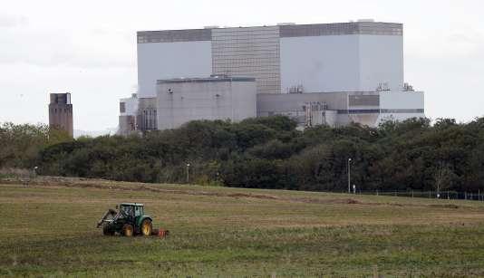 Le site de la future centrale nucléaire de Hinkley Point C  à Bridgwater en Angleterre le 24 octobre 2013.