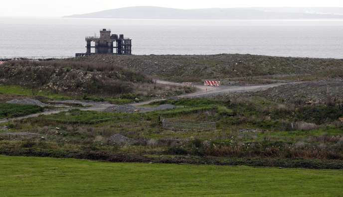 Le site de construction des nouveaux réacteurs nucléaires, à Hinkley Point, au sud-ouest de l'Angleterre