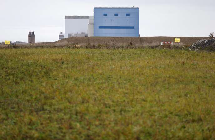 A Hinkley Point (sud-ouest de l'Angleterre).