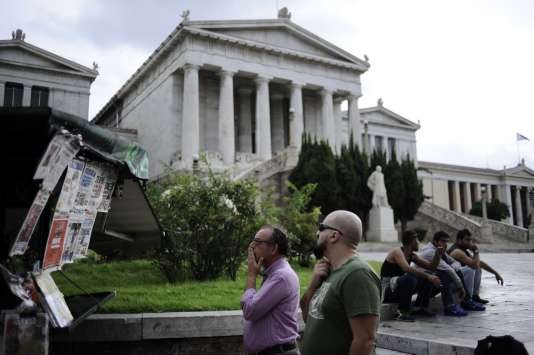 A Athènes lundi 21 septembre.