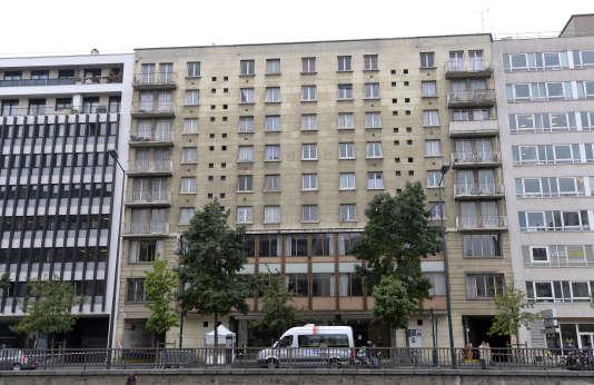 Une HLM à Neuilly-sur-Seine (Hauts-de-Seine), en 2013.