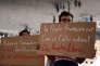 Manifestation en soutien aux réfugiés, à Marseille, le 13 septembre.