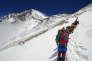 Sur la route de l'Everest, en 2008.