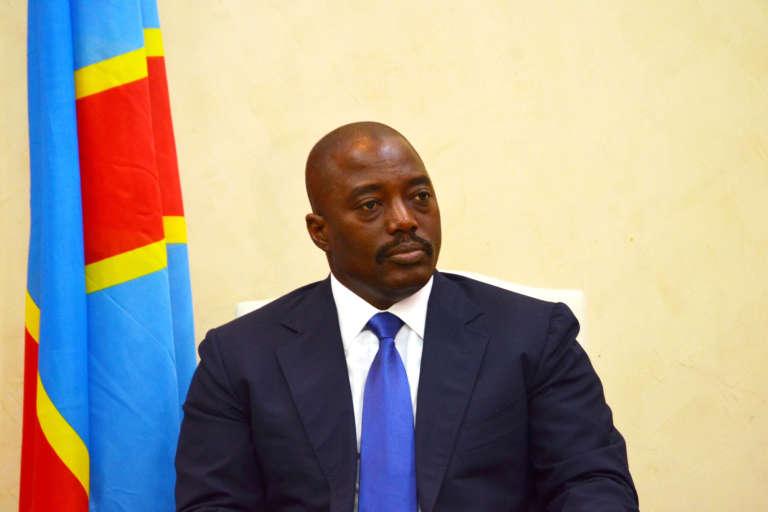 Le président Joseph Kabila, en janvier à Kinshasa (RDC)